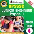 Buy UPSSSC JE Paper-I Mock Test - 4th Edition @ safalta.com