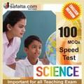 100 Mcqs General Science For All Teaching Exam @ safalta.com