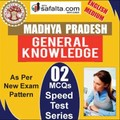 Madhya Pradesh GK 02 Speed Test Series @ safalta.com