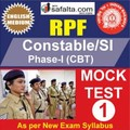 RPF Constable/SI Online Mock Test 1 @ Safalta.com