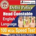 Delhi Police Head Constable 100 Mcqs Speed Test @ safalta.com