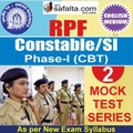 Buy RPF Constable/SI Online 02 Mock Test Series @ Safalta.com