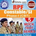 Buy RPF Constable/SI Online 05 Mock Test Series @ Safalta.com