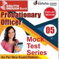 Buy South Indian Bank PO Online 05 Mock Test Series @ Safalta.com