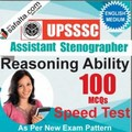 Buy UPSSSC Assistant Stenographer 100 Mcqs Reasoning Ability Speed Test @ safalta.com