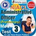 NICL Administrative Officer Pre Online Mock Test 03 @ Safalta.com