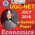 Free! e-Solved Paper UGC-NET July-2018 Economics In Hindi Medium