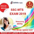 SSC MTS Paper-I Mock Test 2 In English