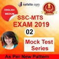 Buy SSC CHSL Paper-I 02 Mock Test Series In English @ safalta.com