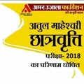 Results of Atul Maheshwari Scholarship Examination-2018