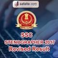 SSc Stenographer revised result