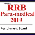 RRB Paramedical 2019