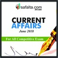 June 2018 Current Affairs Quiz