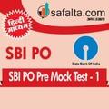 SBI PO Pre Exam  2018
