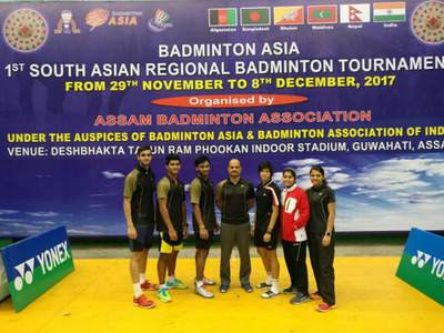 South Asian Regional Badminton Championship