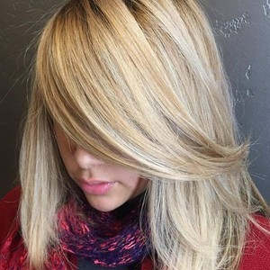 Blonde highlight 5