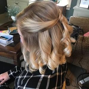 Hair up do 1