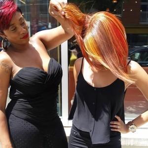 Brigette fall hair