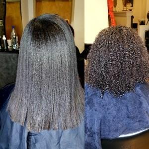 Courtneys hair