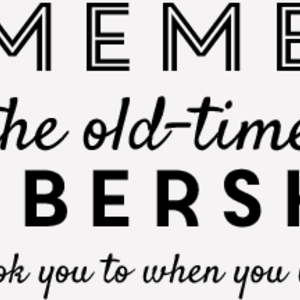 Old time barbershop