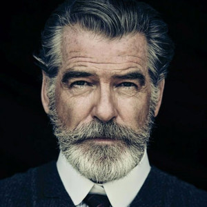 Pierce brosnan classic mens hairstyles