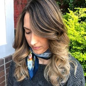 Ashley spencer   front   balayage  haircut    style   douglas carroll salon   downtown   august 24th  2018