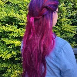 Kayla mankins   back side view   balayage  color  haircut    style   douglas carroll salon   downtown   september 12th  2018