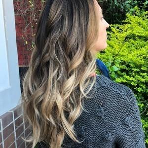 Ashley spencer   balayage  haircut    style   douglas carroll salon   downtown   august 24th  2018
