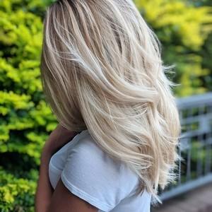 Madison dockery   balayage  highlights  haircut    style   douglas carroll salon   downtown   september 9th  2018