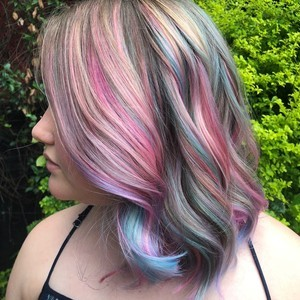 Skyla keiser   side view   color  haircut    style   douglas carroll salon   downtown   august 5th  2018