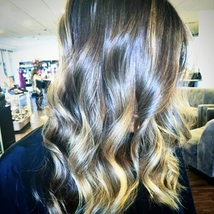 March 24th   balayage   root touch up