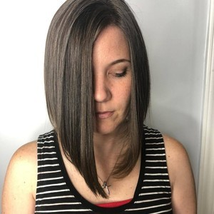 Amanda maynard   haircut   style   tone hair salon   october 3rd  2018