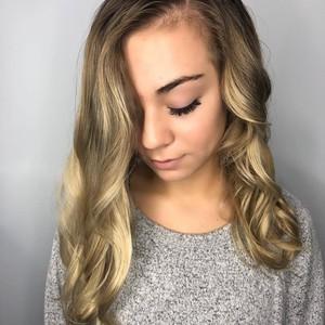 Hannah gantt   balayage  color  haircut    style   tone hair salon   front   november 2nd  2018