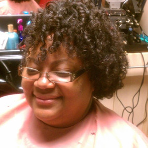Flex rod set on natural hair