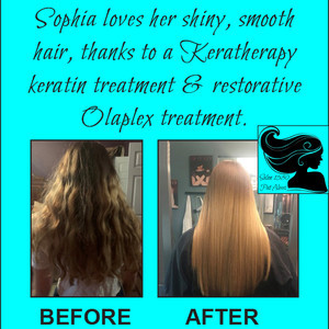 Sophia before after