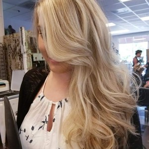Blond balayage fav
