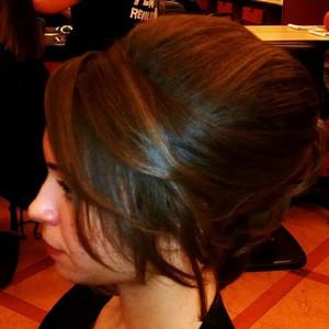 Portfolio hair updo 2