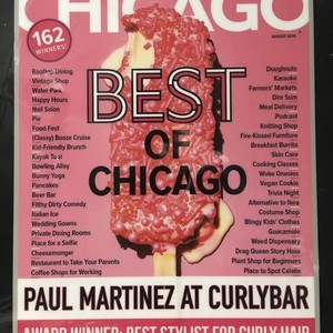 Chicago magazine plaque