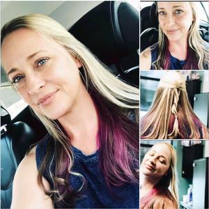 Amber ds   peekaboo purple