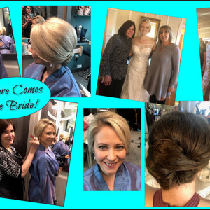 Hannah carter keyes wedding collage