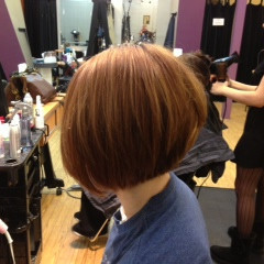 Britts hair