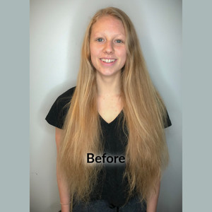 Claire before