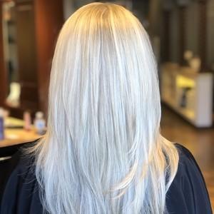 Salon blonde back