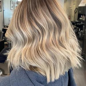 H hair side