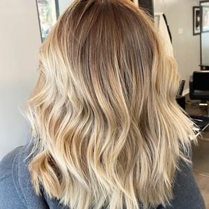 H hair back