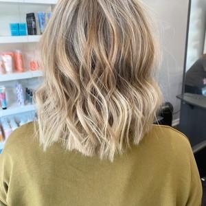 A hair back