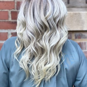 K hair back