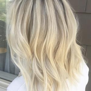 Hair photo blonde highlights