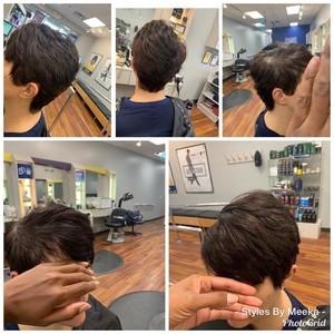 Short adult cut