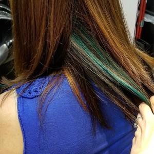 Valparaiso indiana peekaboo hair